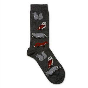 Critter graphic sock