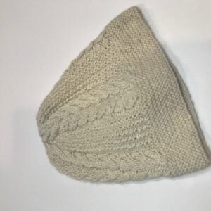 Cable Knit Alpaca Hat Natural